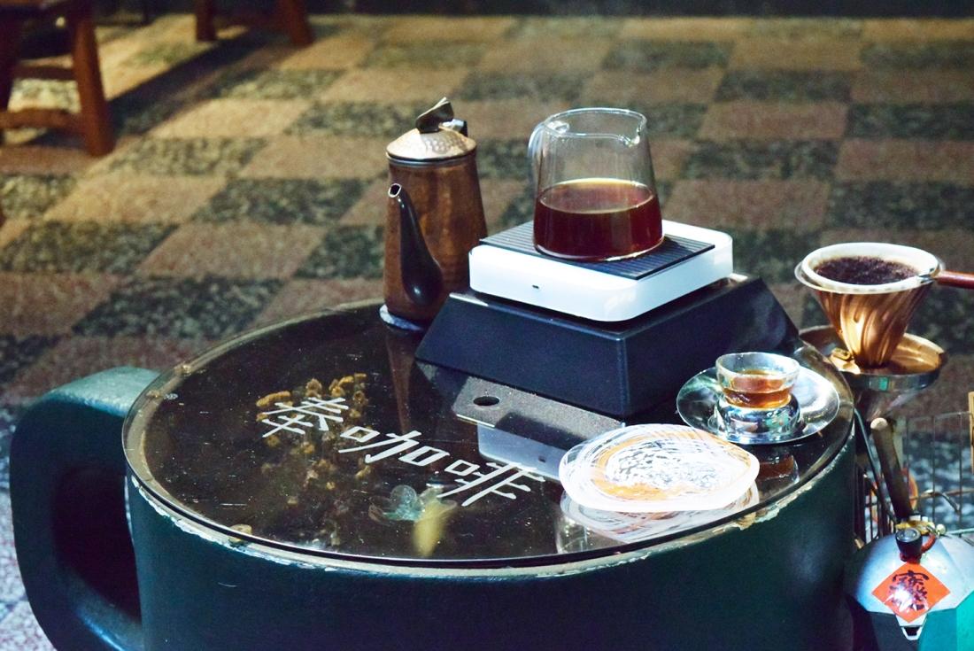 奉咖啡目前只提供咖啡,沒有其他商品(攝影/Yuling Chiu)
