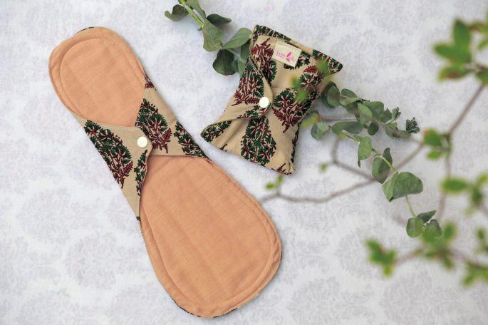 棉樂悅事工坊的布衛生棉共有六種版型,圖為夜用型(圖/棉樂悅事工坊FB)
