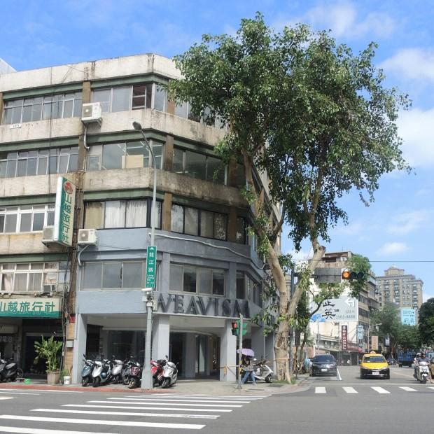 Weavism概念店位於台北市八德路
