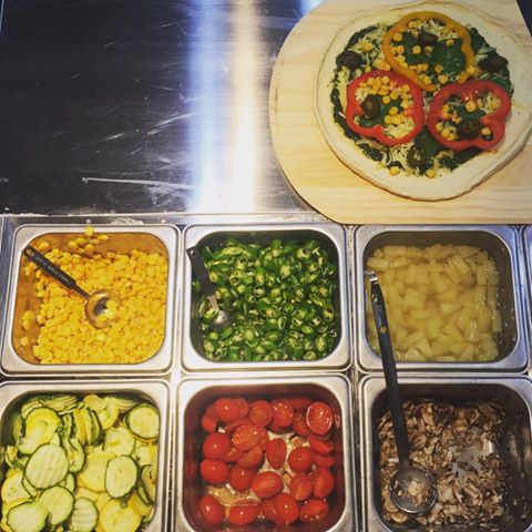 Plus Pizza解決饕客們總是無法隨心所欲品嘗多種口味的困擾(圖/Plus Pizza)
