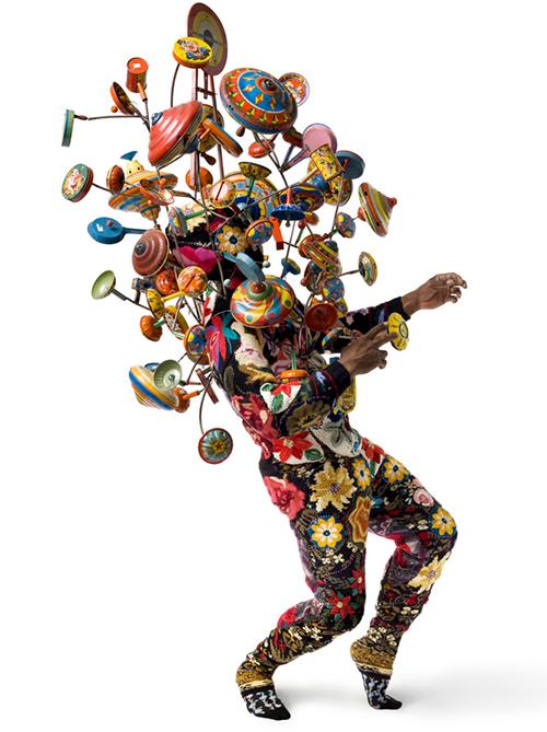 Nick Cave的作品都很瘋狂(圖/Nick Cave FB)
